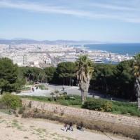 Výhled na Barcelonu