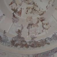 Ruiny římské vesničky Centcelles - rotunda