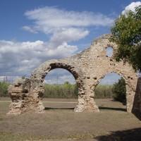Ruiny římské vesničky Centcelles