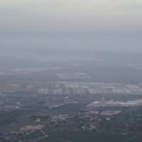 Rýžová pole v Deltě Ebra