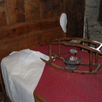Ekomuzeum v Esterri d'Áneu, udělátko pro zahřívání peřiny