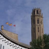 Lleida - věž katedrály