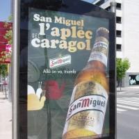 Lleida - pivovar San Miguel sponzoruje šnečí slavnost