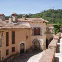 Vesnička Miramar v jižní části pohoří Miramar