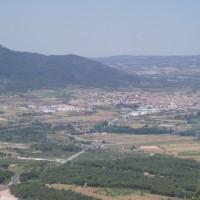 Výhled na Montblanc z pohoří Miramar