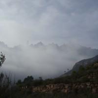 Montserrat v mlze