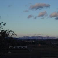 Výhled na Montserrat z městečka L'Arboç