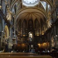 Uvnitř kláštera Montserrat