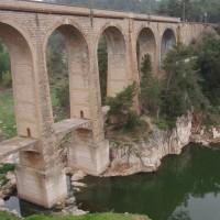 Viadukt u Capçanes na železniční trati Tarragona - Móra la Nova