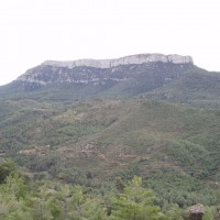 Stolová hora Mola de Colldejou