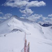 Pyreneje v Andoře na konci března