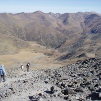 Pyreneje nad Vall de Núria