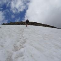 Sníh v červnu v Aigüestortes