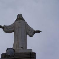 Socha Ježíše nad Sant Carles de la Rápita
