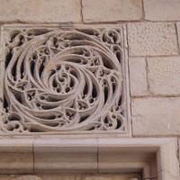 Tortosa - větrání v katedrále Santa Maria