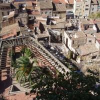 Tortosa - výhled z hradu Zuda