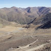 Cesta z Puigmalu do Vall de Núria