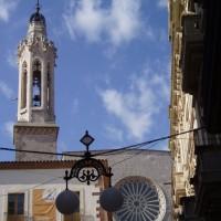 Valls - věž kostelíka